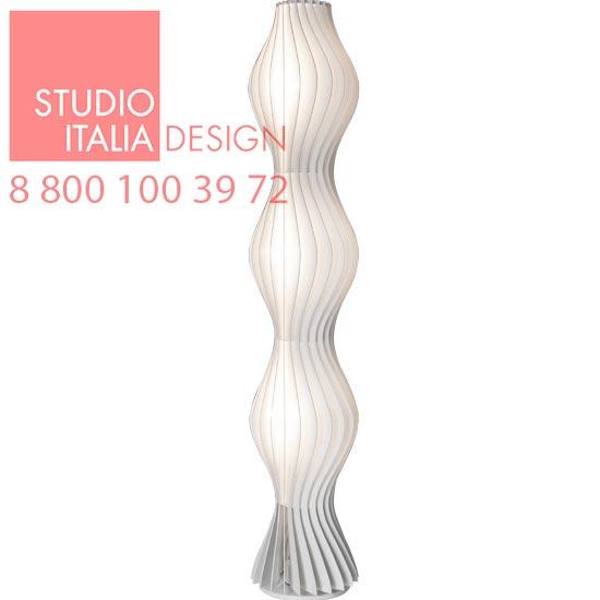 Vapor LT1 matt white торшер Studio Italia Design
