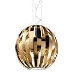 Ufo SO2 polished gold подвесной светильник Studio Italia Design