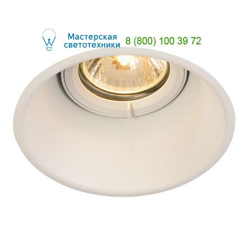 113141 SLV by Marbel HORN-T GU10 светильник встраиваемый для лампы GU10 50Вт макс., белый