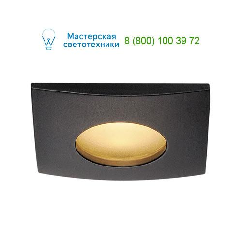 114470 SLV by Marbel OUT 65 SQUARE LED SET, светильник IP65 встраив с LED 9(12)Вт, 38°, 3000K, 460lm, с БП, черный