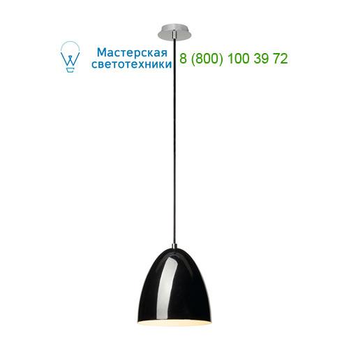 133000 SLV by Marbel PARA CONE 20 светильник подвесной для лампы E27 60Вт макс., черный глянцевый