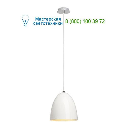133001 SLV by Marbel PARA CONE 20 светильник подвесной для лампы E27 60Вт макс., белый глянцевый