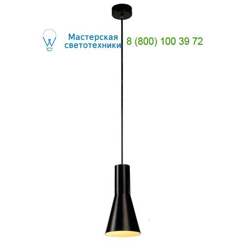 133330 SLV by Marbel PHELIA CONE светильник подвесной для лампы E27 23Вт макс., черный