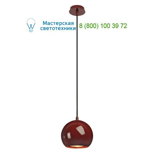 133486 SLV by Marbel LIGHT EYE светильник подвесной для лампы ES111 75Вт макс., бордовый
