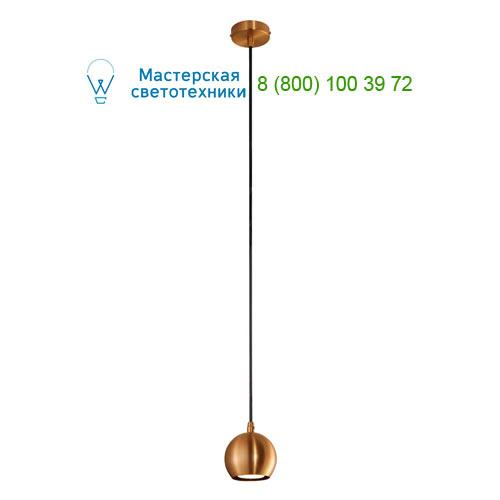 133499 SLV by Marbel LIGHT EYE SMALL светильник подвесной для лампы GU10 5Вт макс., матированная медь