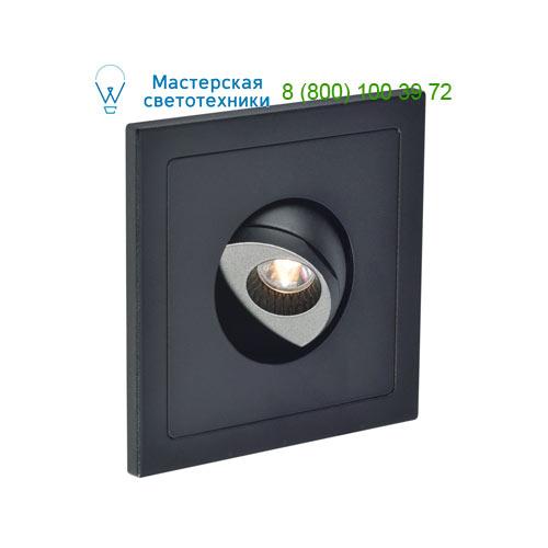 146210 SLV by Marbel PHO светильник встраиваемый 350mA с LED 1Вт, 3000К, 90lm, 20°, черный