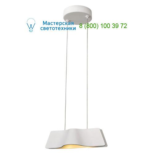 147831 SLV by Marbel WAVE PD светильник подвесной с LED 8.6Вт (12Вт), 3000К, 620lm, белый