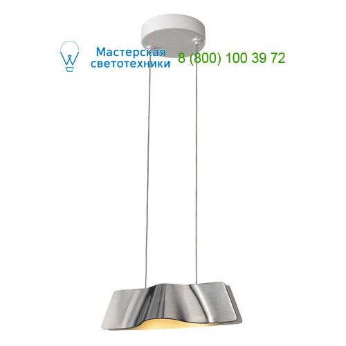147836 SLV by Marbel WAVE PD светильник подвесной с LED 8.6Вт (12Вт), 3000К, 620lm, алюминий / белый