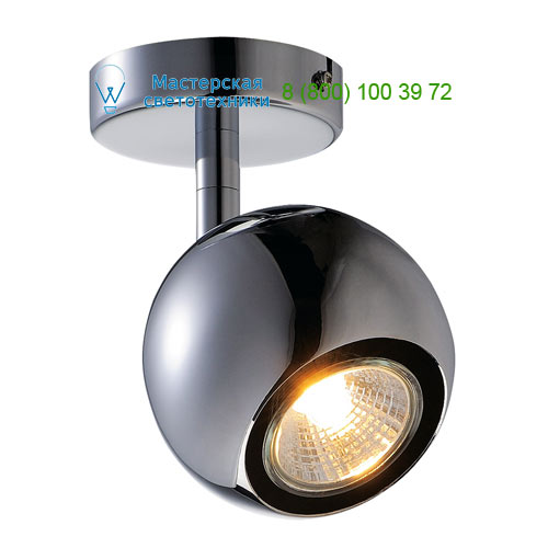 149062 SLV by Marbel LIGHT EYE 1 GU10 светильник накладной для лампы GU10 50Вт макс., хром