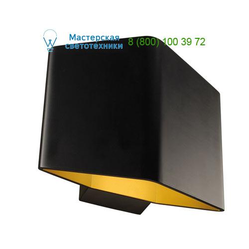 151700 SLV by Marbel CARISO 1 светильник настенный с COB LED 7.6Вт (11Вт), 3000К, 190lm, черный/ матовое золото