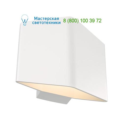 151701 SLV by Marbel CARISO 1 светильник настенный с COB LED 7.6Вт (11Вт), 3000К, 360lm, белый