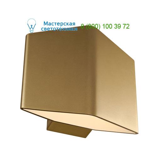 151703 SLV by Marbel CARISO 1 светильник настенный с COB LED 7.6Вт (11Вт), 3000К, 360lm, матовое золото