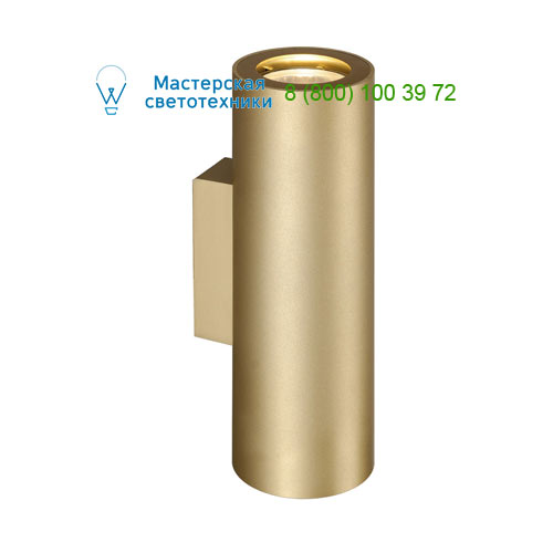 151803 SLV by Marbel ENOLA_B UP-DOWN светильник настенный для 2-х ламп GU10 по 50Вт макс., матовое золото