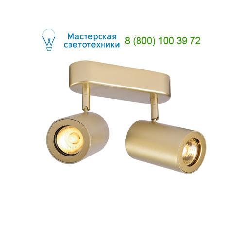 152023 SLV by Marbel ENOLA_B DOUBLE SPOT светильник накладной для 2-х ламп GU10 по 50Вт макс., матовое золото