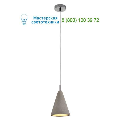 155712 SLV by Marbel SOPRANA SOLID PD-3 светильник подвесной для лампы GU10 25Вт макс., серый бетон