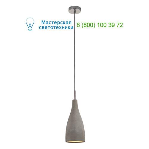 155713 SLV by Marbel SOPRANA SOLID PD-4 светильник подвесной для лампы E27 25Вт макс., серый бетон