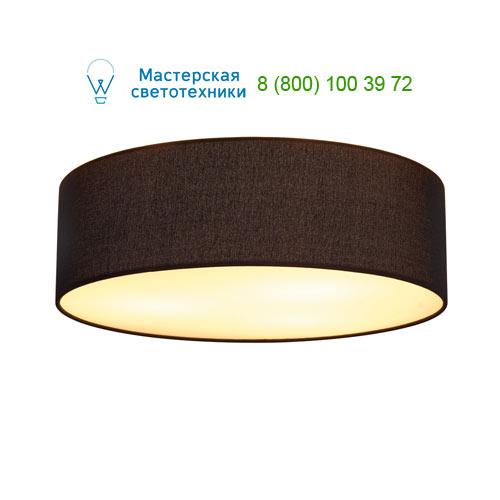 156050 SLV by Marbel TENORA CL-1 светильник потолочный для лампы E27 60Вт макс., хром/ черный