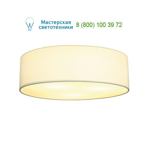 156051 SLV by Marbel TENORA CL-1 светильник потолочный для лампы E27 60Вт макс., хром/ белый