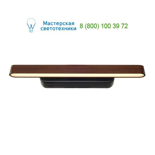 156247 SLV by Marbel VINCELLI WL светильник настольный с SMD LED 10.7Вт, 2700К, 640lm, черный/ бамбук