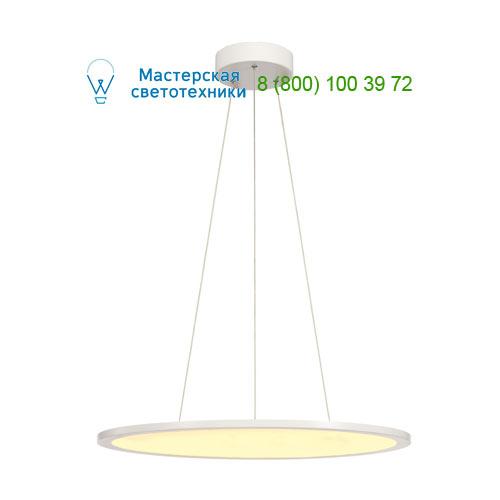 158622 SLV by Marbel LED PANEL ROUND светильник подвесной с LED 39.8Вт, 2700K, 2630lm, 110°, диммируемый 1-10В, белый