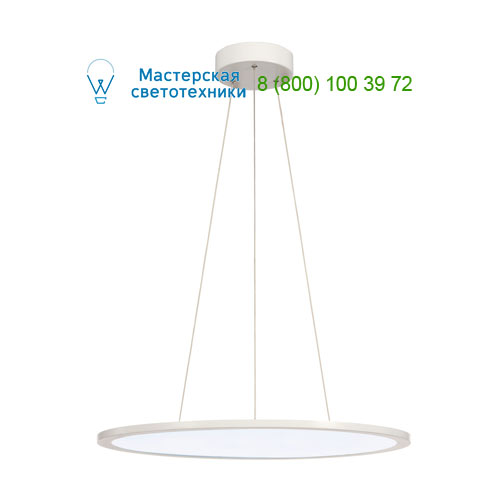 158624 SLV by Marbel LED PANEL ROUND светильник подвесной с LED 39.8Вт, 4000K, 2930lm, 110°, диммируемый 1-10В, белый
