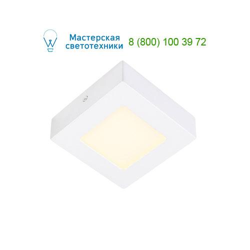 162963 SLV by Marbel SENSER SQUARE 6W светильник накладной 230V c SMD LED 6Вт (6.7Вт), 3000K, 230lm, c БП, белый