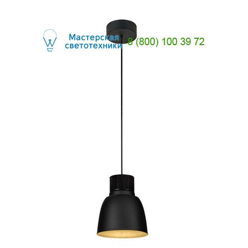 165600 SLV by Marbel PENTULI 24 светильник подвесной с COB LED 31Вт (36Вт), 3000K, 2550lm, черный