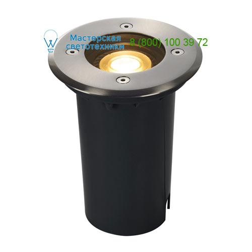 227680 SLV by Marbel SOLASTO ROUND светильник встраиваемый IP67 для лампы GU10 6Вт макс., сталь