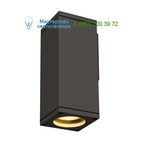 229525 SLV by Marbel THEO WALL OUT светильник настенный IP44 для лампы GU10 35Вт макс., антрацит
