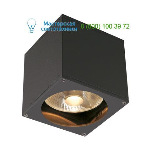 229565 SLV by Marbel BIG THEO WALL OUT светильник настенный IP44 для лампы ES111 75Вт макс., антрацит