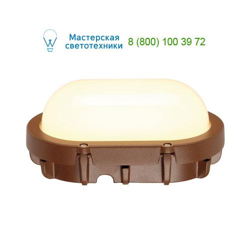 229927 SLV by Marbel TERANG LED светильник накладной IP44 с SMD LED 11Вт, 3000K, 680lm, бурый