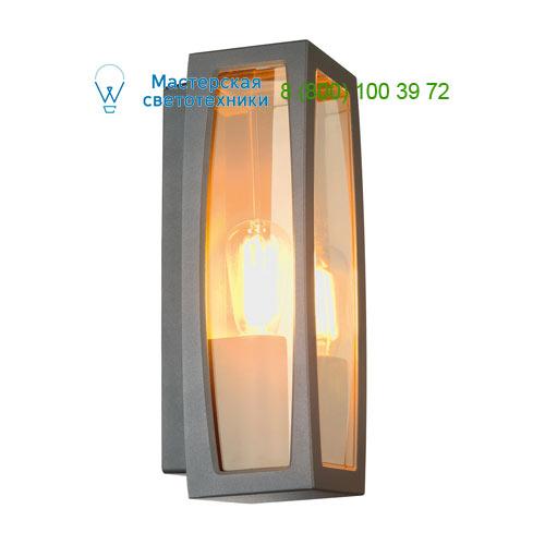 230655 SLV by Marbel MERIDIAN BOX 2 светильник настенный IP54 для лампы ELT E27 25Вт макс., антрацит/ прозрачный