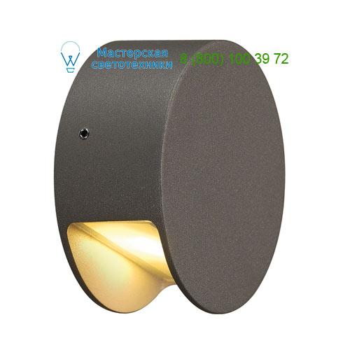231015 SLV by Marbel PEMA LED WALL светильник настенный IP44 c PowerLED 3.3Вт (4.2Вт), 3000К, 110lm, антрацит