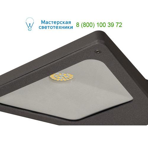 231745 SLV by Marbel TRAPECCO WALL DOWN светильник настенный IP44 с LED 10Вт, 3000К, 850lm, антрацит