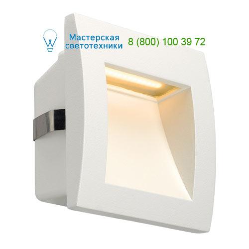233601 SLV by Marbel DOWNUNDER OUT LED S светильник встраиваемый IP55 c SMD LED 0.96Вт (1.7Вт), 3000К, 40lm, белый