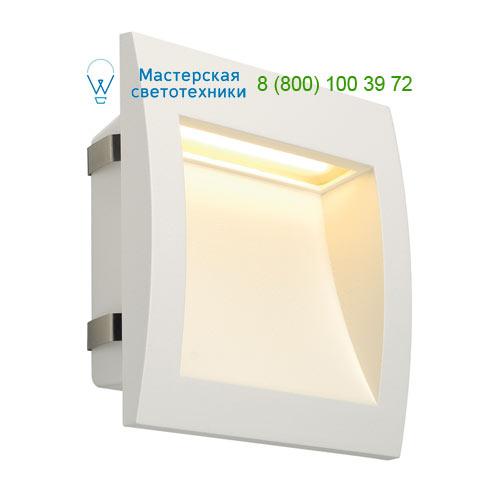 233611 SLV by Marbel DOWNUNDER OUT LED L светильник встраиваемый IP55 c SMD LED 0.96Вт (3.3Вт), 3000К, 155lm, белый