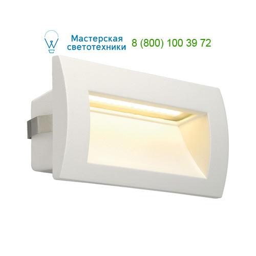 233621 SLV by Marbel DOWNUNDER OUT LED M светильник встраиваемый IP55 c SMD LED 0.96Вт (3.3Вт), 3000К, 155lm, белый