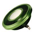 "LED AR111, gr""un, 19,5W, 140°, 2700K, d"
