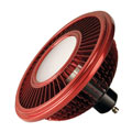 LED ES111, rot, 15W, 140°, 2700K