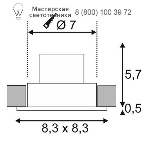 Чертеж SLV by Marbel 114451