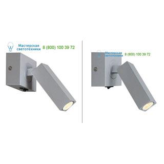 1000326 SLV by Marbel STIX светильник накладной с выключателем и LED 4.5Вт, 3000К, 185лм, серебристый