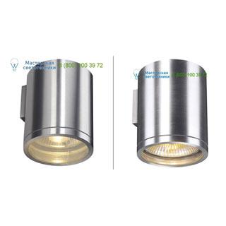1000333 SLV by Marbel ROX WALL OUT светильник настенный IP44 для лампы ES111 75Вт макс., матированный алюминий