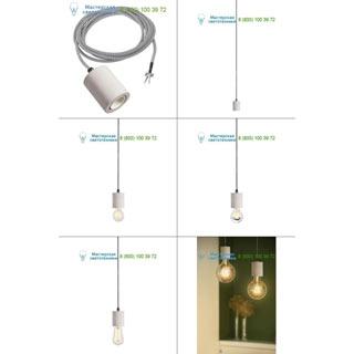 1000585 SLV by Marbel FITU Е27 PD светильник подвесной 2.5m для лампы Е27 60Вт макс., без основания, бетон