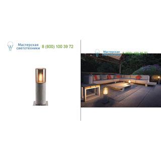 1000665 SLV by Marbel LISENNE POLE 40 светильник IP54 для лампы E27 23Вт макс., серый базальт/ дымчатое стекло