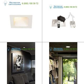 1000795 SLV by Marbel VERLUX INDI 9 светильник встраиваемый с LED 8.6Вт, 3000К, 650лм, белый
