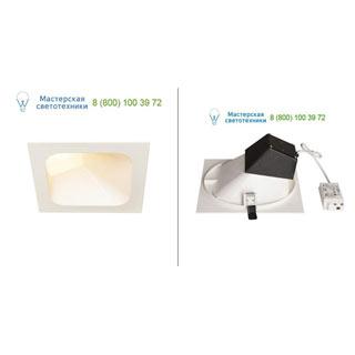 1000796 SLV by Marbel VERLUX INDI 16 светильник встраиваемый с LED 16Вт, 3000К, 1370лм, белый