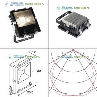 1000805 SLV by Marbel DISOS LED 73 светильник IP65 c LED 68.5Вт (73Вт), 3000К, 110°, 7200лм, черный