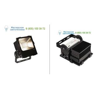 1000806 SLV by Marbel DISOS LED 100 светильник IP65 c LED 90Вт (100Вт), 3000К, 110°, 9600лм, черный