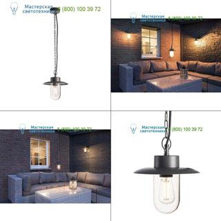 1000821 SLV by Marbel MOLAT PD светильник подвесной IP44 для лампы E27 60Вт макс., антрацит