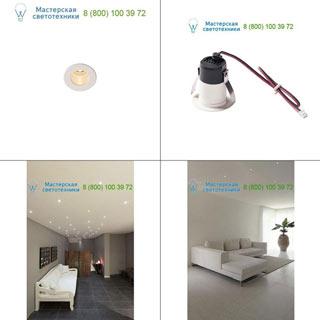 1000914 SLV by Marbel TRITON MINI LED светильник встраиваемый 350мА с LED 1.2Вт, 3000К, 70лм, 12°, CRI>90, белый